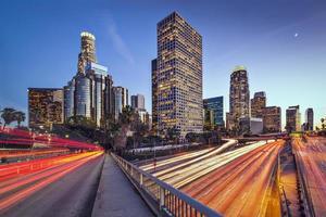 Los Angeles, Californië Cityscape foto