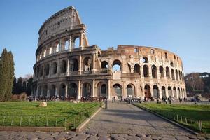 colosseum van rome foto