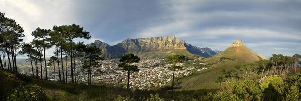 Tafelberg vanaf Signal Hill foto