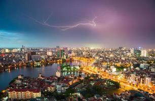 stadslichten foto
