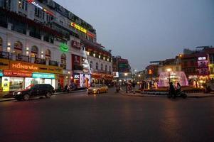 hoàn kiếm meer - Hanoi foto