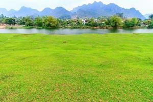 het dorp in Vietnam foto