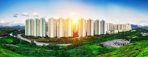 openbaar landgoed van hong kong foto