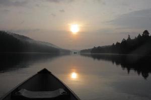 kanotocht op rivier 2014 foto
