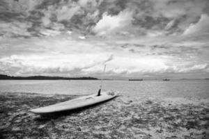 kajak aan het strand foto