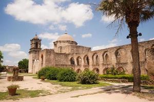 historische architectuur missie San Jose San Antonio Texas foto