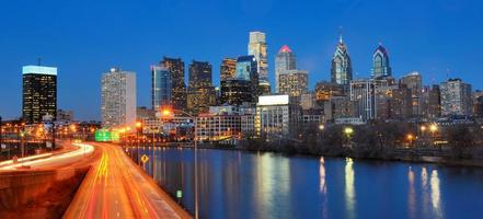 Philadelphia centrum stad foto