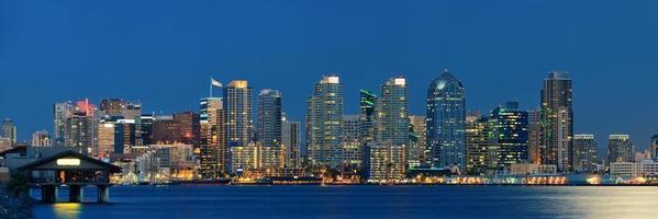 San Diego skyline van het centrum foto