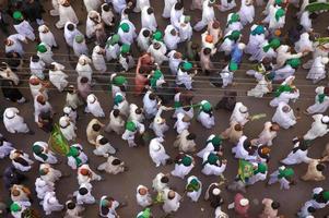 de processie van de profeet foto