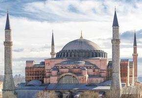 hagia sophia, istanbul, turkije foto