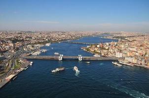 istanbul schieten vanuit de lucht foto