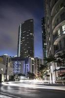 Miami verkeer in de binnenstad foto