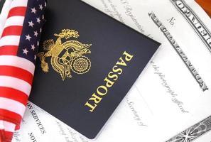 burgerschapsdocumenten foto