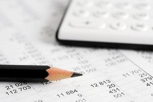 financiële boekhouding foto