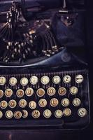 retro typemachine foto