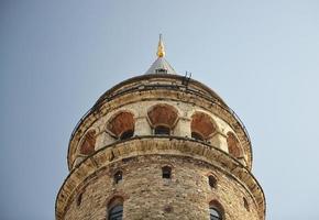galatatoren in Istanboel foto