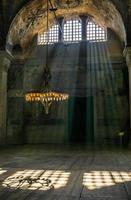 hagia sophia interior, istambul, turkije foto
