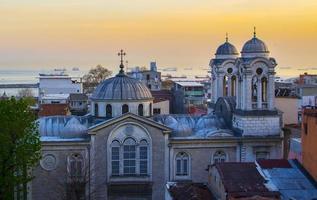 orthodoxe kerk in Istanbul, Turkije foto