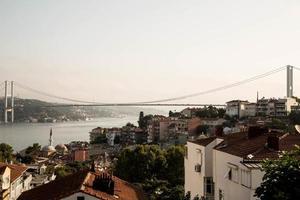 uitzicht op de bosporus foto