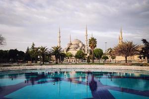 Sultanahmet blauwe moskee foto