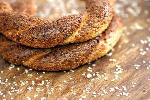 Turkse bagel foto