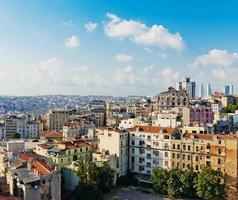 istanbul uitzicht vanaf galata toren foto