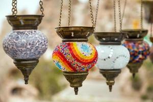 Turkse lamp foto