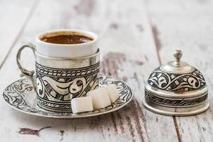 traditionele Turkse koffie foto