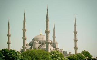 moskee van sultanahmet foto