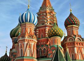 Moskou kerk foto