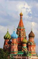 Saint Basil's Cathedral, Moskou, Rusland foto