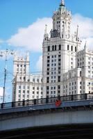 stalins wolkenkrabber foto