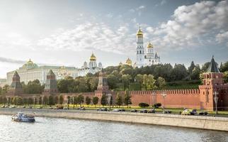 het kremlin van moskou, rusland foto