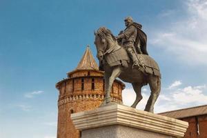 het monument voor dmitry donskoy foto