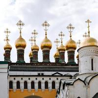 chuches van terem paleis in Moskou foto