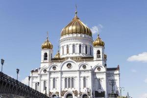 kathedraal van Christus de Verlosser foto