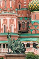 kathedraal op het Rode Plein, Moskou, Rusland foto