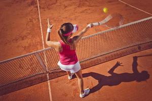 vrouwelijke tennisser