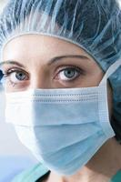 vrouwelijke chirurg foto