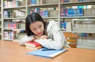 vrouwelijk studentenportret foto