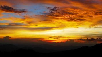 zonsondergang hemel achtergronden foto