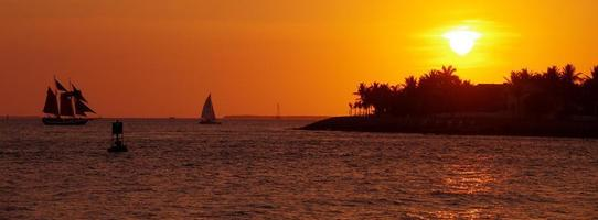 Key West zonsondergang foto