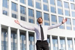 succesvolle zakenman foto