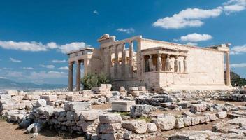 acropolis heuvel, Athene foto