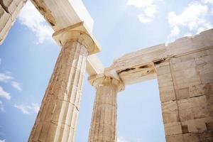 oude ruïnes, Griekenland foto