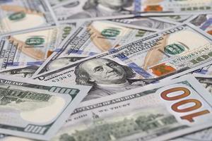 achtergrond met geld foto