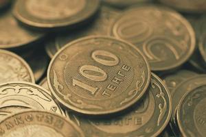 Kazachs geld - tenge foto