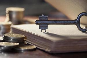 sleutel tot geld foto