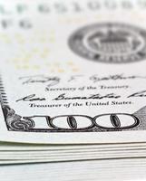 geld en bedrijfsconcept foto