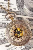 let op het geld foto
